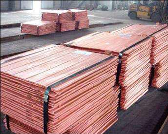 從國外進口電解銅來滿足國內市場需求