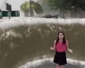 天气预报用上 AR 技术,带来身临其境的暴风雨体验