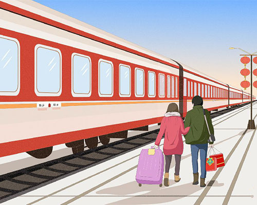 Spring Festival train tickets will be available from the 12th
