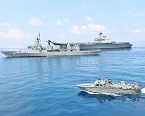 最佳买家秀!泰国海军航母和中国造护卫舰同框训练