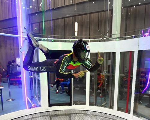 2019年全国室内跳伞冠军赛开赛