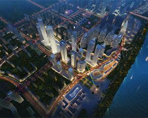 湖南湘江新区梅溪湖CBD中央商务区开发建设 项目