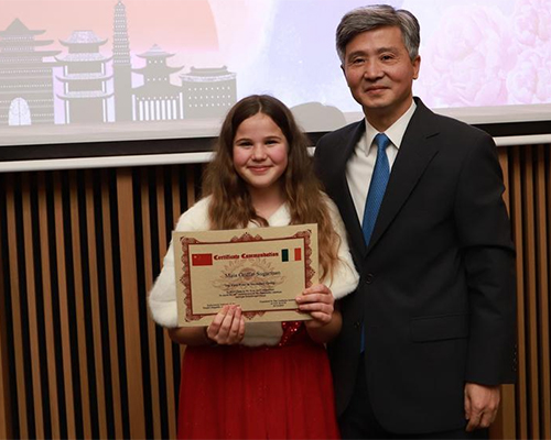 China-related painting competition held in Dublin