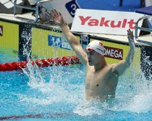 稳扎稳打!孙杨顺利晋级世锦赛200米自由泳决赛