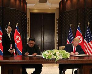 中俄认为新加坡峰会印证了他们的主张