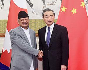 专访尼泊尔外长:盼中尼印三方交好合作