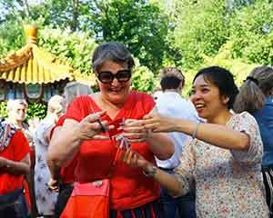 中国驻比利时使馆举办开放日活动