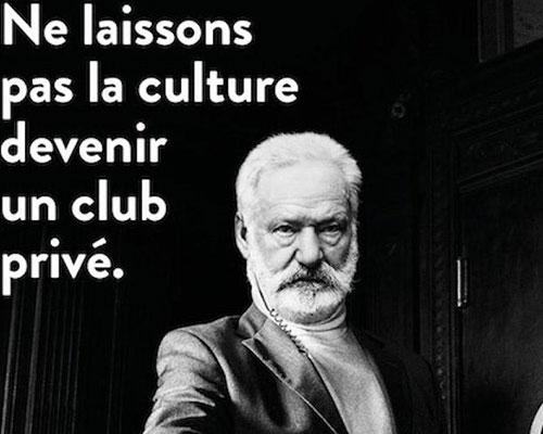 La campagne de la Fondation Cultura pour défendre l'accès à la culture