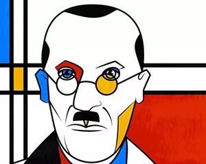 他画一条线,卖了一亿美元,还影响了艺术和时尚界!