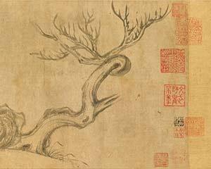 """苏轼真迹?争议声中的""""《木石图》""""拍出4.1亿天价"""