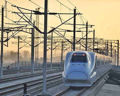 High-speed rail connects major cities in southwest China's mountainous regions
