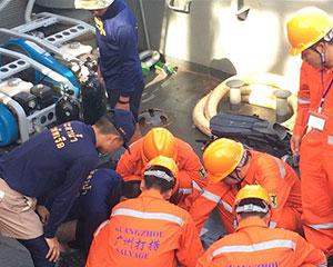 泰国沉船遇难同胞遗体仍有一具待打捞