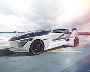 AeroMobil展示电动垂直起降飞行汽车概念
