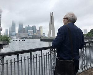 """""""一带一路""""电影人打卡上海地标,未来或将在沪取景"""