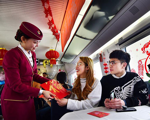 440m train trips expected during 40-day travel rush
