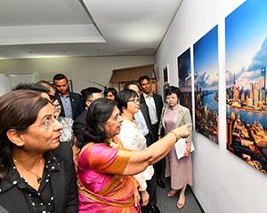 """""""上海客厅""""城市推广活动在毛里求斯举行"""