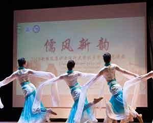 """""""儒风新韵""""中国传统民乐歌舞演出在埃及受欢迎"""