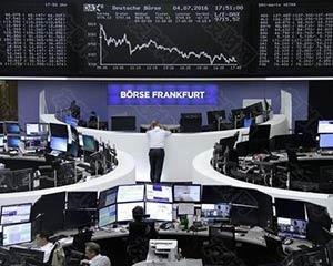 欧股上涨 经济数据良莠不齐、继续关注财报