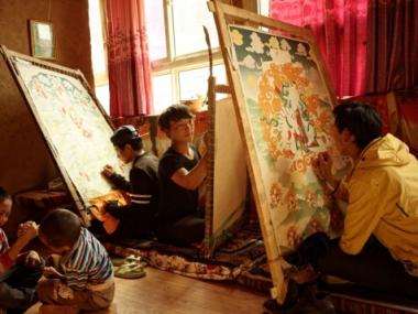 西藏本教:一个唐卡家族的故事