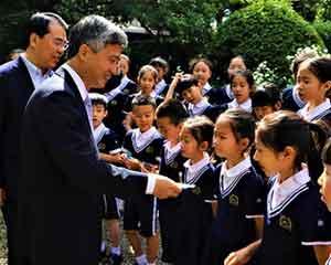 上海保利童声合唱团做客驻爱尔兰使馆