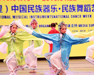 多种民族音乐艺术角逐甘肃敦煌 促传统音乐传承发展