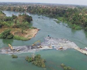 老挝东萨宏水电站项目